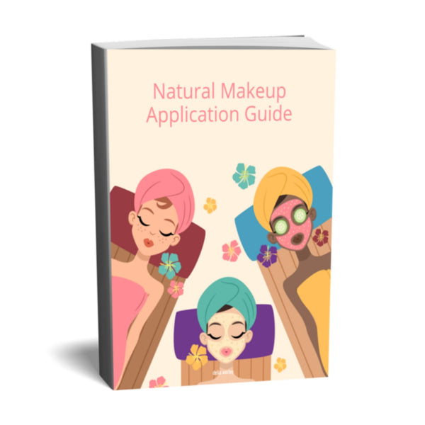 Ebook- Applying Natural Makeup Guidebook of Tips