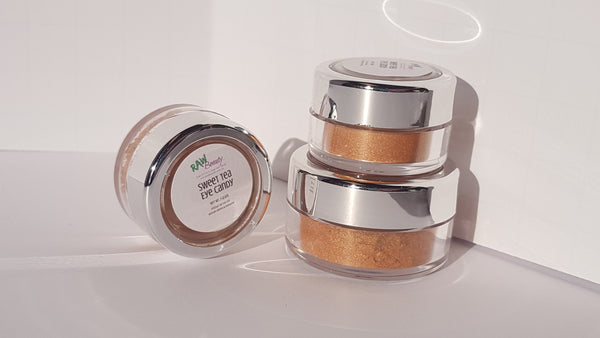 100% pure bronzed golden blush or mineral eye shadow loose powder shimmer copper powder