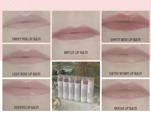 Tinted Lip Balm | Natural Tint Lip Chap | Raw Beauty Minerals