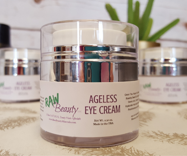 Ageless Eye Cream | Vegan & Cruelty Free Face and Eye Cream