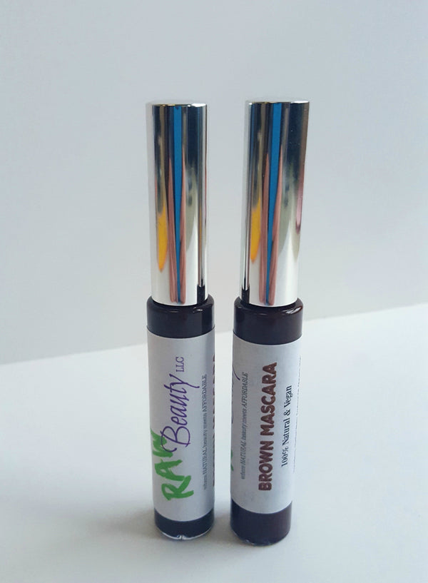 brown mascara vegan cosmetics