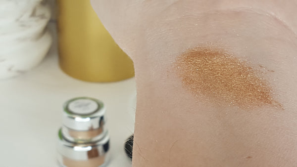 eye shadow shimmer pigment all natural eye makeup swatches raw beauty minerals