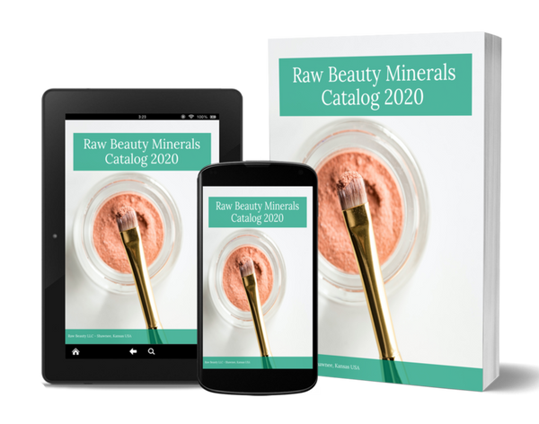 Ebook- Current 2020 Catalog - Raw Beauty Minerals