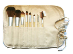 bamboo handle makeup brush set