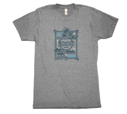 2017 ICCA Competitor T-Shirt Grey