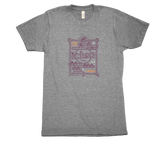 2017 ICHSA Ultra Fan T-Shirt Grey