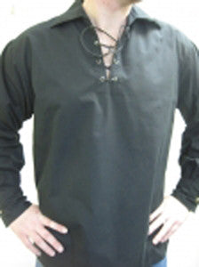 Black Cotton Blend GhIllie Shirt