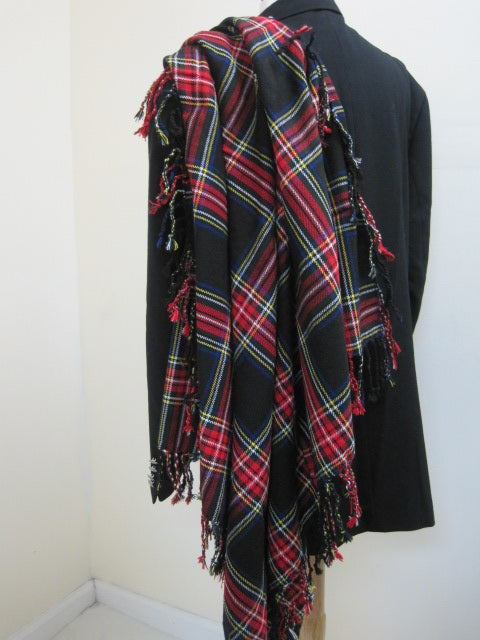 Black Stewart Fly Plaid