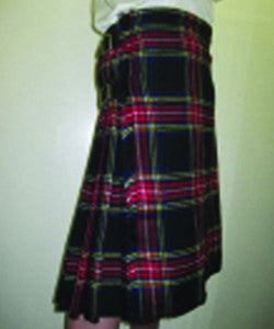 Black Stewart Formal Kilt