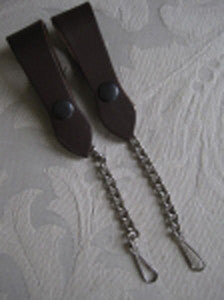 Brown Sporran Suspenders/Hangers