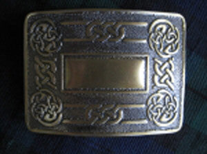 Celtic Knot Belt Buckle (Antique Brass Finish)