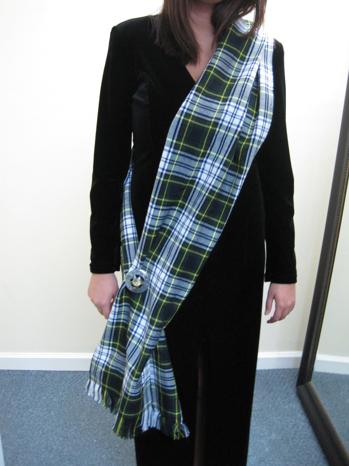Gordon Dress Tartan Sash