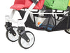 Familidoo Lidoo Lightweight 3 Seater Stroller with FREE Rain Cover