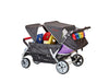 Familidoo Heavy Duty Lidoo Bus 6 Seater Stroller with FREE Rain Cover