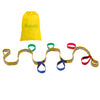 Walkodile® Grab & Go Kids Walking Rope / Fire Drill Resource (6 child). With Free Learning Games for Walks Guide!