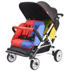 Familidoo Lightweight 4 Seater Stroller with FREE Rain Cover & Canopy