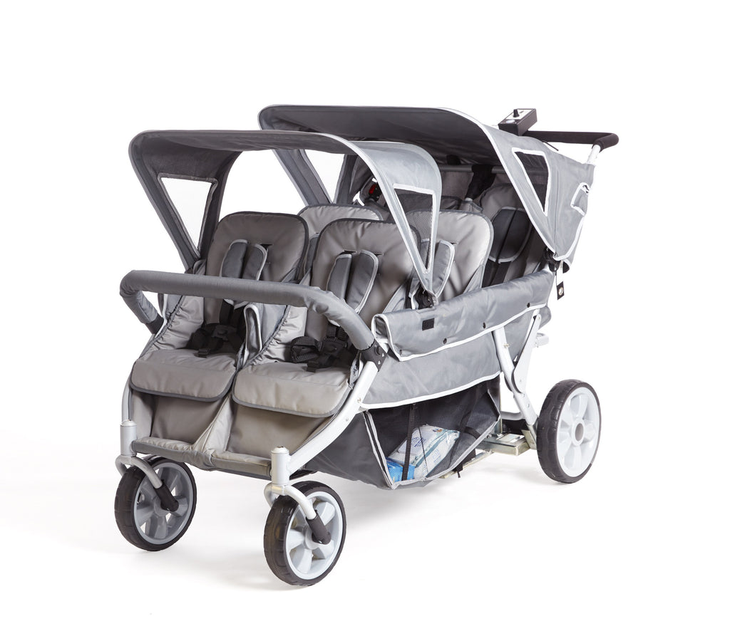 Cabrio Plus - 6 Seat, No Push, Motorised Stroller (incl. FREE Raincover)