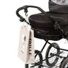Double Stroller - Fixed Wheels (Incl. FREE Accessory Pack)