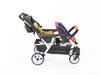 Familidoo Lidoo City - Compact 4 Seater Stroller with FREE Rain Cover
