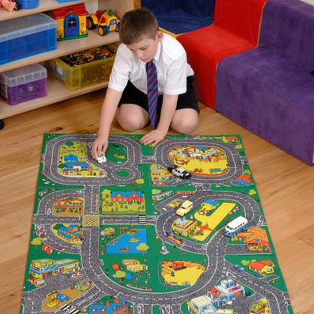Giant Roadway Playmat