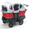 Deluxe Winther Turtle Kiddy Bus - 4 Child Kids Buggy, Quad Pram, Four Passenger Stroller