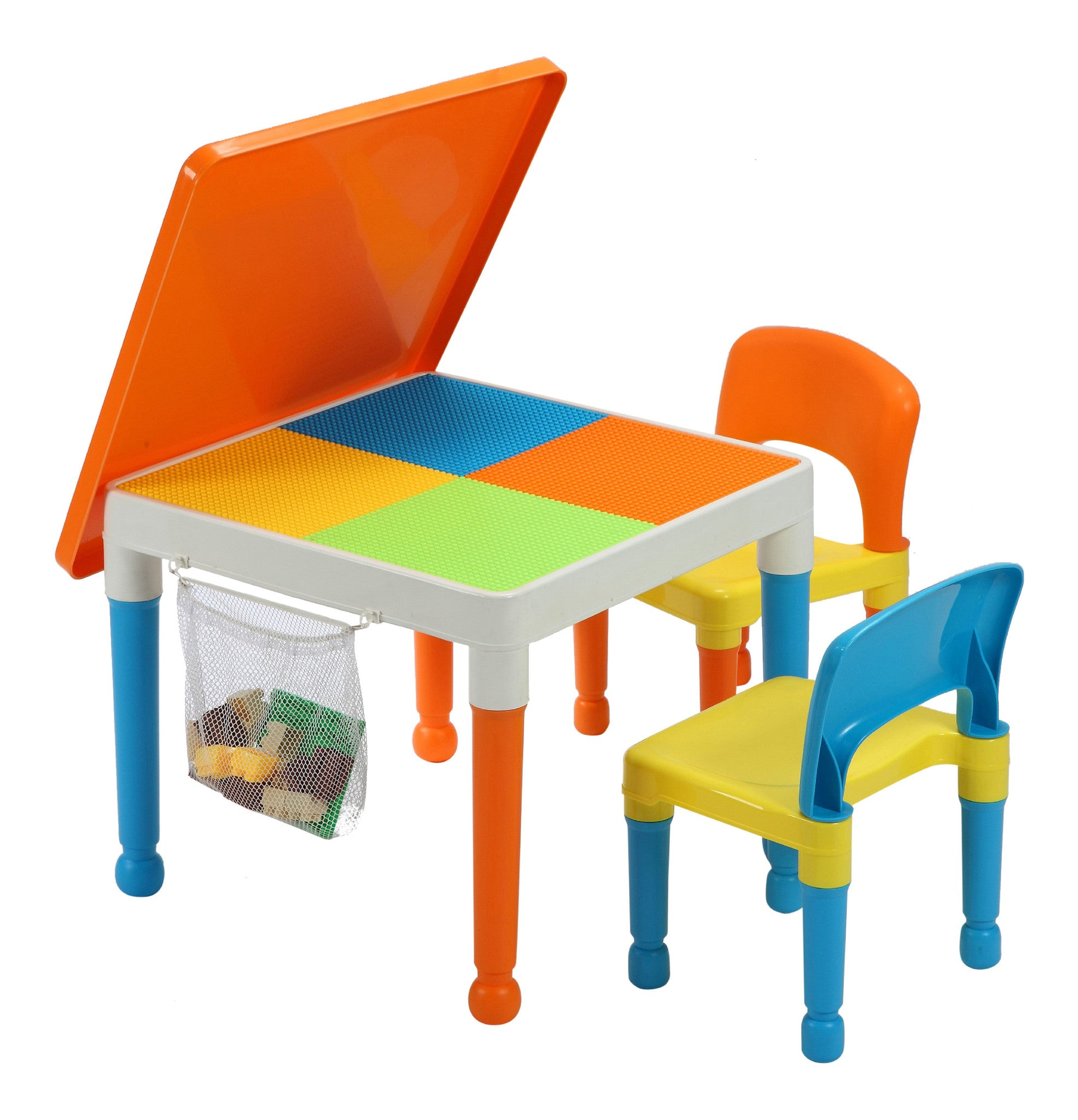 Multipurpose Activity Table 2 Chairs With Storage Bag Hopscotch School Supply