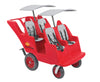 Bye Bye Buggy - 4 Seat Pram, Quad Stroller, Buggy for Four Children