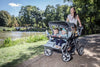 SUMMER OFFER! Cabrio Stroller - 4 Seat Childrens Buggy, Quad Stroller (incl. FREE Raincover)