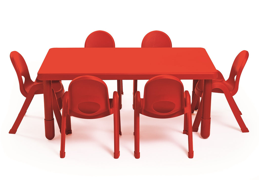 Value Table Red (Rectangle) - 35.5cm