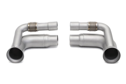 Soul Performance Porsche 991 GT3 / GT3 RS / 911R Side Muffler Bypass Pipes