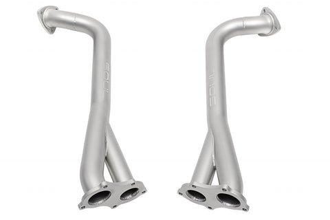 Soul Performance Porsche 718 GT4 / Spyder / GTS Cayman Competition Over Axle Pipes