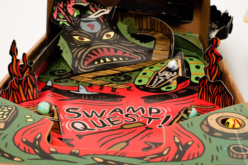 Swamp Quest GameChanger closeup