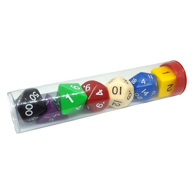 Jumbo Polyhedral Dice Pack