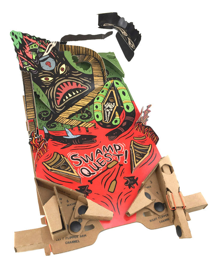 Swamp Quest PinBox 3000 playboard