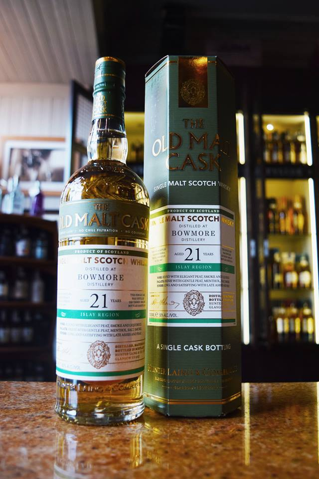 Bowmore 21 Old Malt Cask