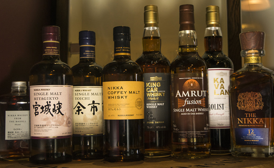 A look at new world Whiskies