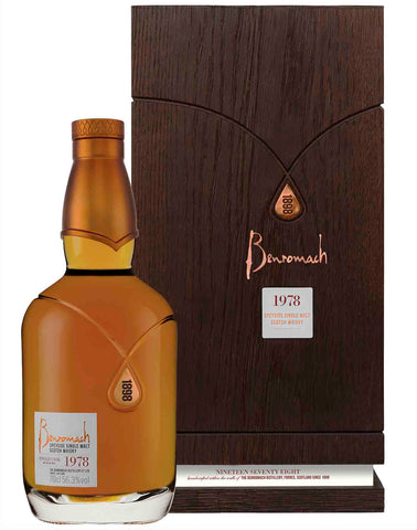 Benromach 40 year old 1978