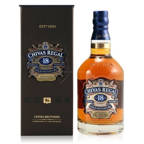 Chivas Regal 18 Year Old, Blended Scotch Whisky, 70cl.