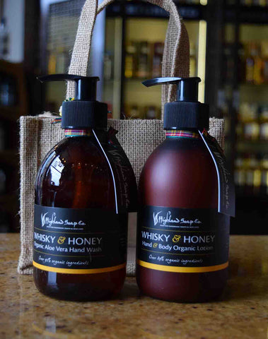 Whisky and Honey Handwash and Lotion