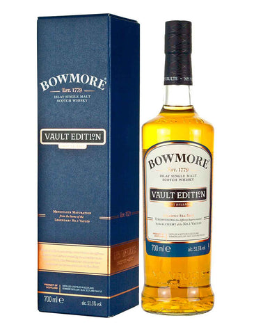 Bowmore Vault Edition - Atlantic Sea Salt Single Malt Whisky, 70cl