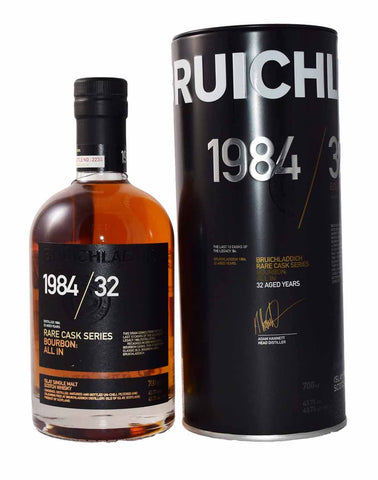Bruichladdich 1984 / 32 Rare Cask Series Bourbon ALL IN