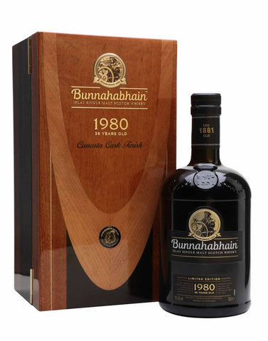 Bunnahabhain 36 year old, Single Malt Whisky, 70cl