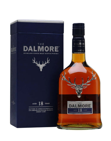 Dalmore 18 year old, Single Malt Whisky, 70cl. `