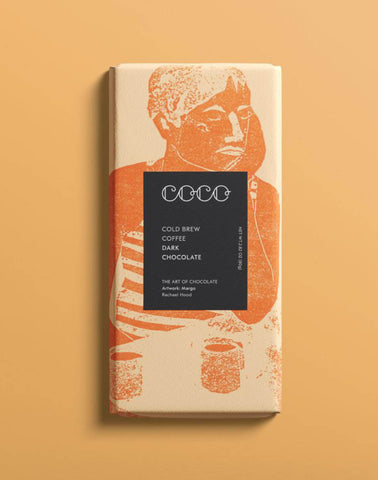 Artisan  Cold Brew Coffee Chocolate - Coco Chocolate 80g