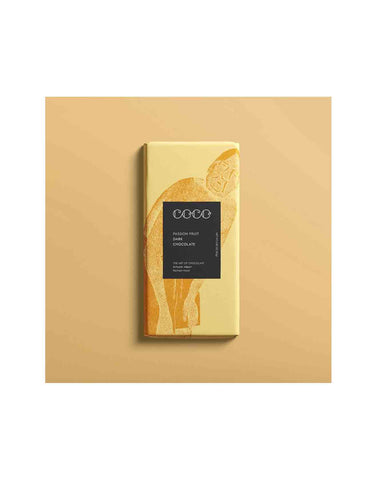 Artisan Passion Fruit Chocolate - Coco Chocolate 80g