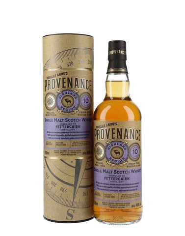 Provenance  Fettercairn 10 Year Old, Single Malt Whisky, 70cl