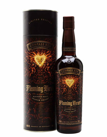 Compass Box Flaming Heart