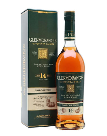 Glenmorangie 14 Quinta Ruban, Single Malt Whisky, 70cl
