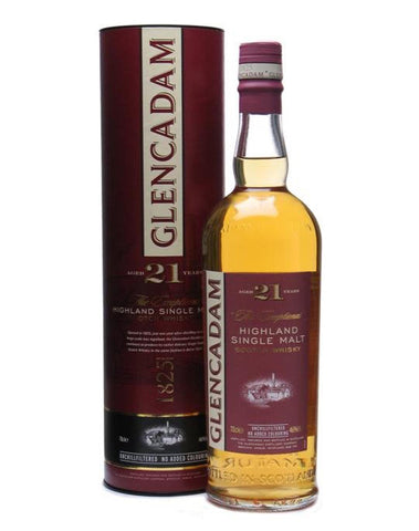 Glencadam 21, Single Malt Whisky, 70cl.
