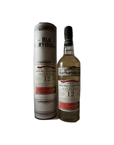 GlenBurgie 12 Year Old Douglas Laing Old Particular, Single Malt Whisky, 70cl.
